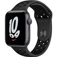 Apple Watch Nike SE 44mm Vesmírně šedý hliník s antracitovým/černým sportovním řemínkem Nike