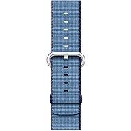 Apple 38mm Navy modrý/ azurový z tkaného nylonu - Řemínek