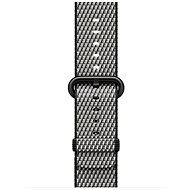Apple 38mm Černý z tkaného nylonu (prošívání) - Řemínek
