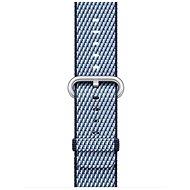 Apple 38mm Půlnočně modrý z tkaného nylonu (prošívání) - Řemínek