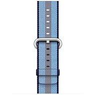 Apple 38mm Půlnočně modrý z tkaného nylonu (proužky) - Řemínek