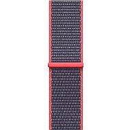 Apple 38mm Elektro růžový provlékací sportovní - Řemínek