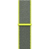 Apple 38mm Zářivě žlutý provlékací sportovní - Řemínek