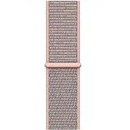 Apple 40mm Pískově růžový provlékací sportovní - Řemínek