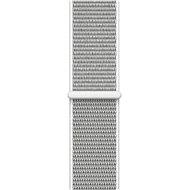Apple 42mm Mušlově bílý provlékací sportovní - Řemínek
