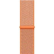 Apple 42mm Paprikově oranžový provlékací sportovní - Řemínek