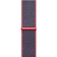 Apple 42mm Elektro růžový provlékací sportovní - Řemínek
