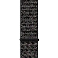 Apple 42mm Černý provlékací sportovní - Large - Řemínek