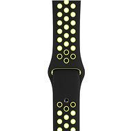 Apple Sport Nike 42mm/44mm Černý/Volt - Řemínek