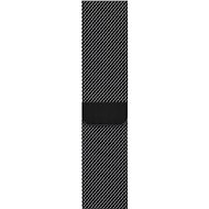 Apple 42mm/44mm Vesmírně černý Milánský tah - Řemínek