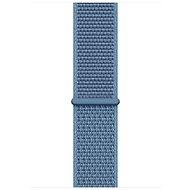Apple 44mm Modrošedý provlékací sportovní - Řemínek