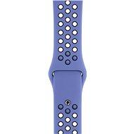 Apple Watch 44mm Noblesně modrý/černý Nike Sport Band – S/M & M/L - Řemínek