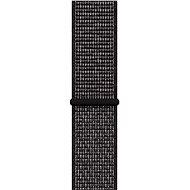 Apple Watch 44mm Černý Nike sportovní řemínek - Řemínek