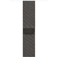 Apple Watch 44mm Graphite Grey Milanese Loop - Watch band