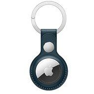 Apple AirTag kožená klíčenka baltsky modrá - AirTag klíčenka