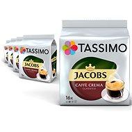 Tassimo KARTON 5 x Jacobs Cafe Crema 112g  - Kávové kapsle