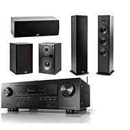 DENON AVR-S750H Black + Polk Audio T15 + T30 + T50 Speaker - Home Cinema System