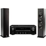 DENON DRA-800H Black + Polk Audio T50 - Set