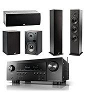 DENON AVR-S950H Black + Polk Audio T15 + T30 + T50 Speaker - Home Cinema System