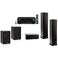 DENON AVR-X1400H + 5.1 Speaker Polk Audio T50 + T30 + T15 - Set