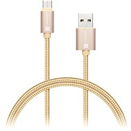 CONNECT IT Wirez Premium Metallic USB-C 1m gold - Datový kabel