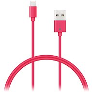 CONNECT IT Colorz Lightning Apple 1m růžový - Datový kabel