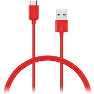 CONNECT IT Colorz Micro USB 1m červený - Datový kabel