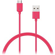 CONNECT IT Colorz Micro USB 1m růžový - Datový kabel