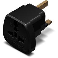 Cestovní adaptér CONNECT IT UK Power Adapter černý