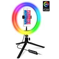 CONNECT IT Selfie10RGB RGB LED světlo - Selfie tyč