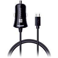 CONNECT IT InCarz Charger s micro USB kabelem 1.5 metru, černá - Nabíječka do auta