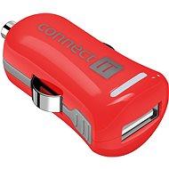 CONNECT IT InCarz Charger ONE 2.1A červená (V2) - Nabíječka do auta