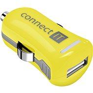 CONNECT IT InCarz Charger ONE 2.1A žlutá (V2) - Nabíječka do auta