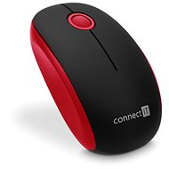 CONNECT IT CMO-1500-RD Red - Myš