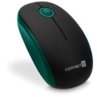 CONNECT IT CMO-1500-GR Green - Myš