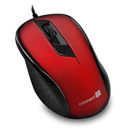 CONNECT IT Optical USB mouse červená - Myš