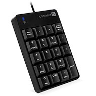 CONNECT IT NumCALC CKB-0060-BK, Black - Numeric Keypad