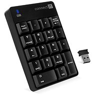 CONNECT IT NumCALC CKB-0061-BK, Black - Keyboard