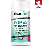 CLEAN IT Wet Cleaning Wipes for Plastics 100 pcs - Cleaner