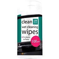 Čisticí prostředek CLEAN IT Čistící ubrousky mokré na plasty 100ks