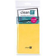 CLEAN IT čisticí utěrka z mikrovlákna, velká žlutá - Čisticí utěrka