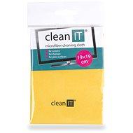 CLEAN IT čisticí utěrka z mikrovlákna, malá žlutá - Čisticí utěrka