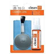 CLEAN IT set na čištění objektivů a čoček se štětcem - Čisticí prostředek