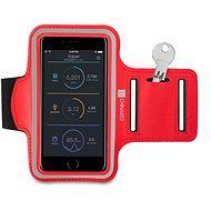 CONNECT IT CFF-1150-RD Fitness Armband, Red - Pouzdro na mobilní telefon