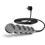 CONNECT IT prodlužovací 230 V, 5 zásuvek, 5m, šedý - Napájecí kabel