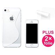 CONNECT IT S-Cover iPhone SE/5/5s čiré - Ochranný kryt