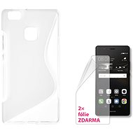 Kryt na mobil CONNECT IT S-Cover Huawei P9 Lite (2016) čiré 3378116d51d