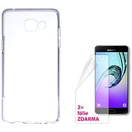 CONNECT IT S-Cover Samsung Galaxy A5 2016 (SM-A510F) čiré - Kryt na mobil