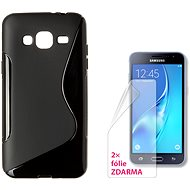 CONNECT IT S-Cover Samsung Galaxy J3/J3 Duos 2016 (SM-J320F) černé - Kryt na mobil