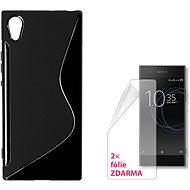 CONNECT IT S-Cover Sony Xperia XA1 černé - Ochranný kryt
